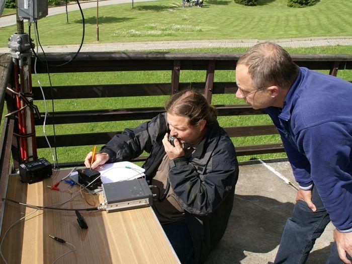 Punkte sammeln beim DARC-Contest