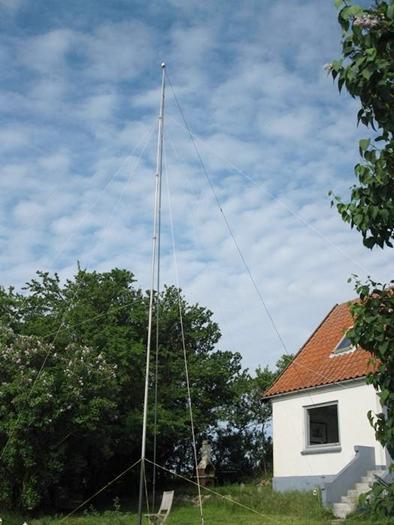 Die Antennen stehen