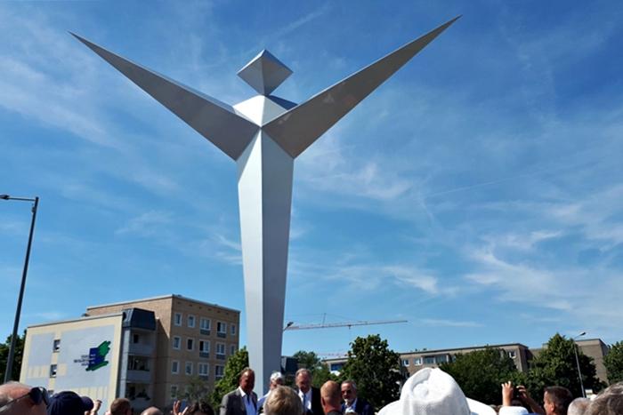 Einweihung Hugo-Junkers-Denkmal